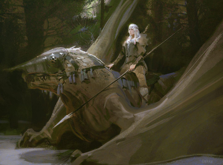 ArtStation - Dragon Rider, Nick Gindraux | Dragones | Pinterest ...