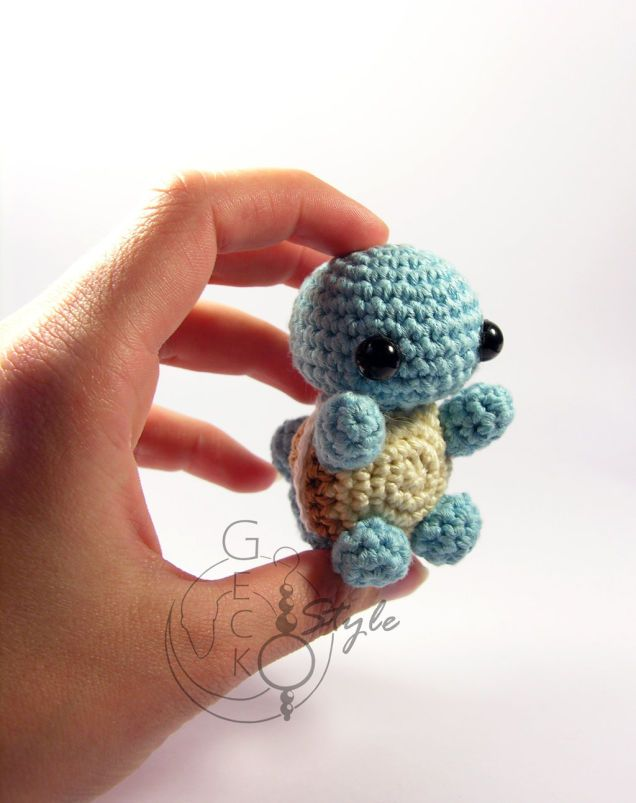 "deviantART user LeFay00 makes a ton of Amigurumi, which according to Wikipedia is the ""Japanese art of knitting or crocheting small stuffed animals."" Often, Amigurumi are adorable. So it should be no surprise that LeFay's collection of chibi  Pokémon Amigurumi are rather charming."