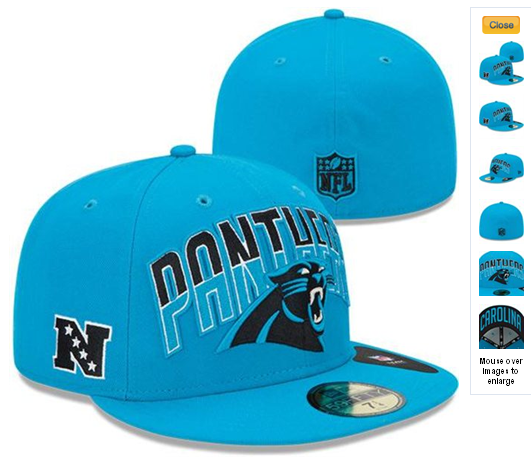80cb085c1dd NFL Draft 59FIFTY Fitted Carolina Panthers Hats 6967