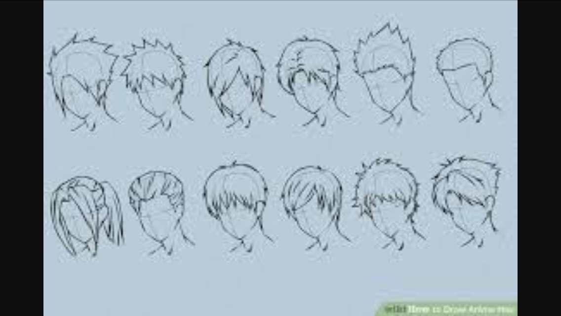 Pin by Addison on Drawing anime How to draw hair, Hair