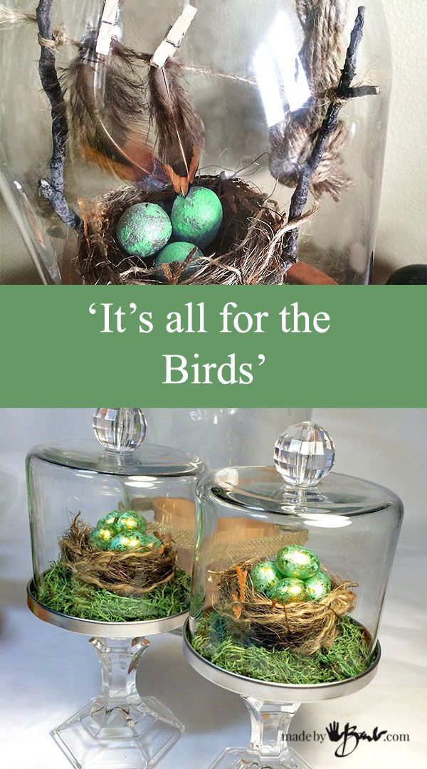 Make your own Birds Nests, easter crafts and Bird themed