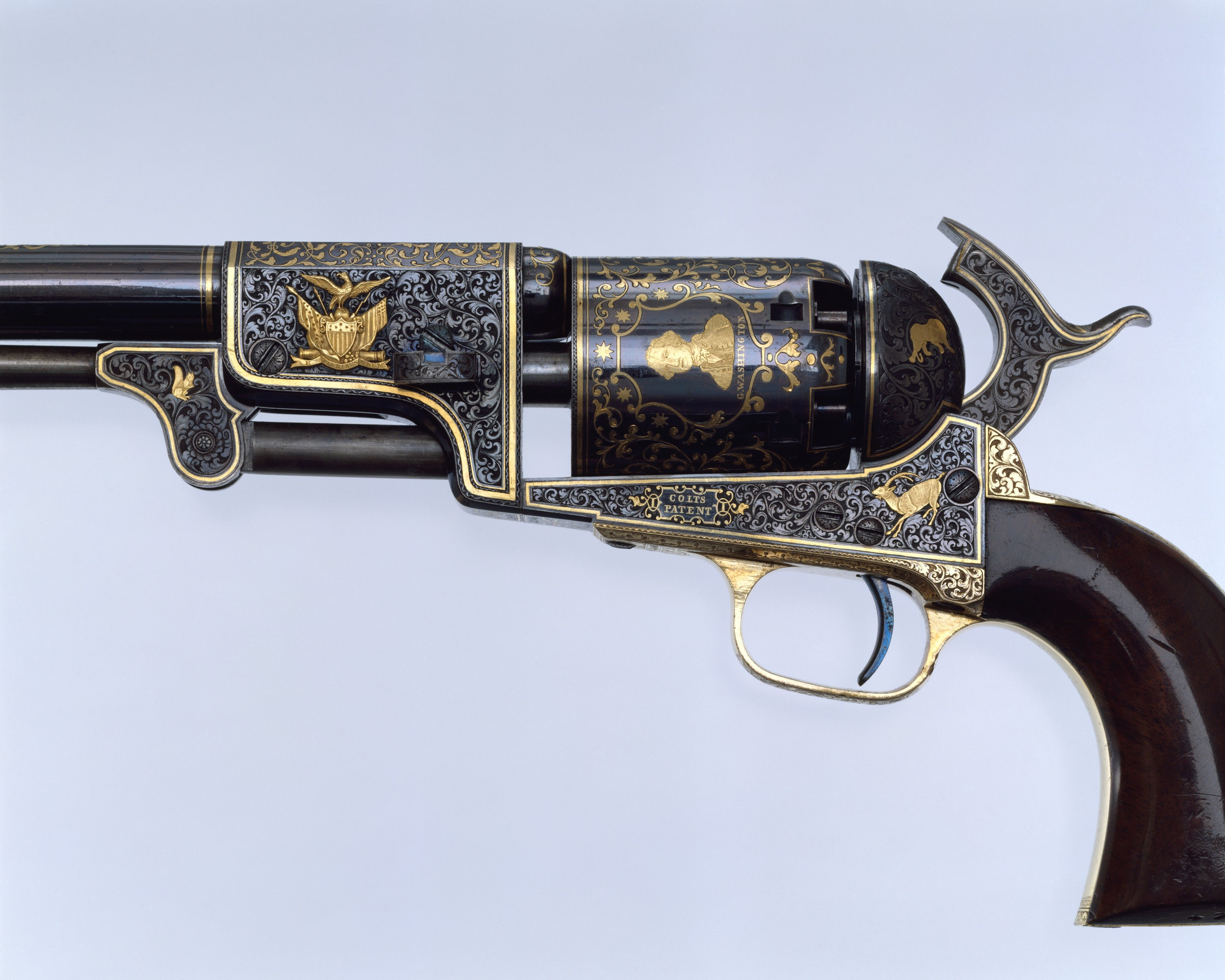 a biography of samuel colt a gun manufacturer The colt revolver was a godsend to young colt designed an innovative gun with an a texas ranger, captain samuel walker, wrote colt a testimonial.