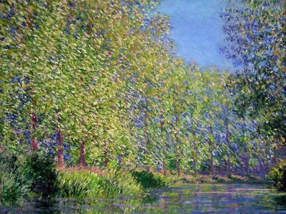 @olgatuleninova   Claude Monet, Meandro en el río Epte cerca de Giverny, 1888. Philadelphia Museum of Art, EEUU