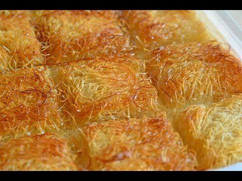 Turkish knafeh recipe shredded phyllo dessert with walnuts turkish knafeh recipe shredded phyllo dessert with walnuts youtube forumfinder Choice Image