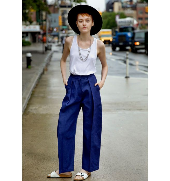 Street Chic Monica V - NYC Street Style June 30 - Elle