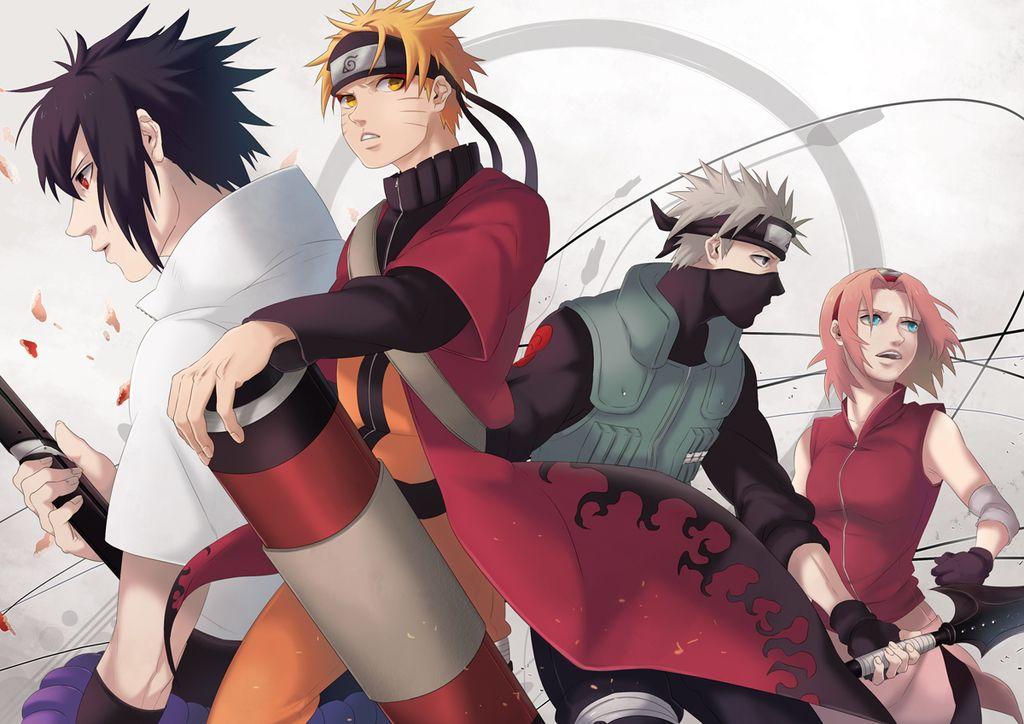 Team 7 Anime, Naruto, Anime characters