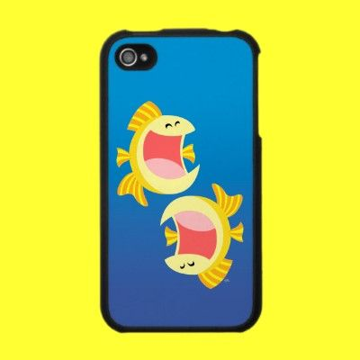 Pisces iPhone Case. Two cute little fish