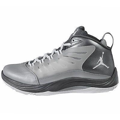 5b3388b0e86687 NIKE JORDAN PRIME FLY 2 MENS 654287-003 Grey Basketball Shoes Sneakers Size  8.5