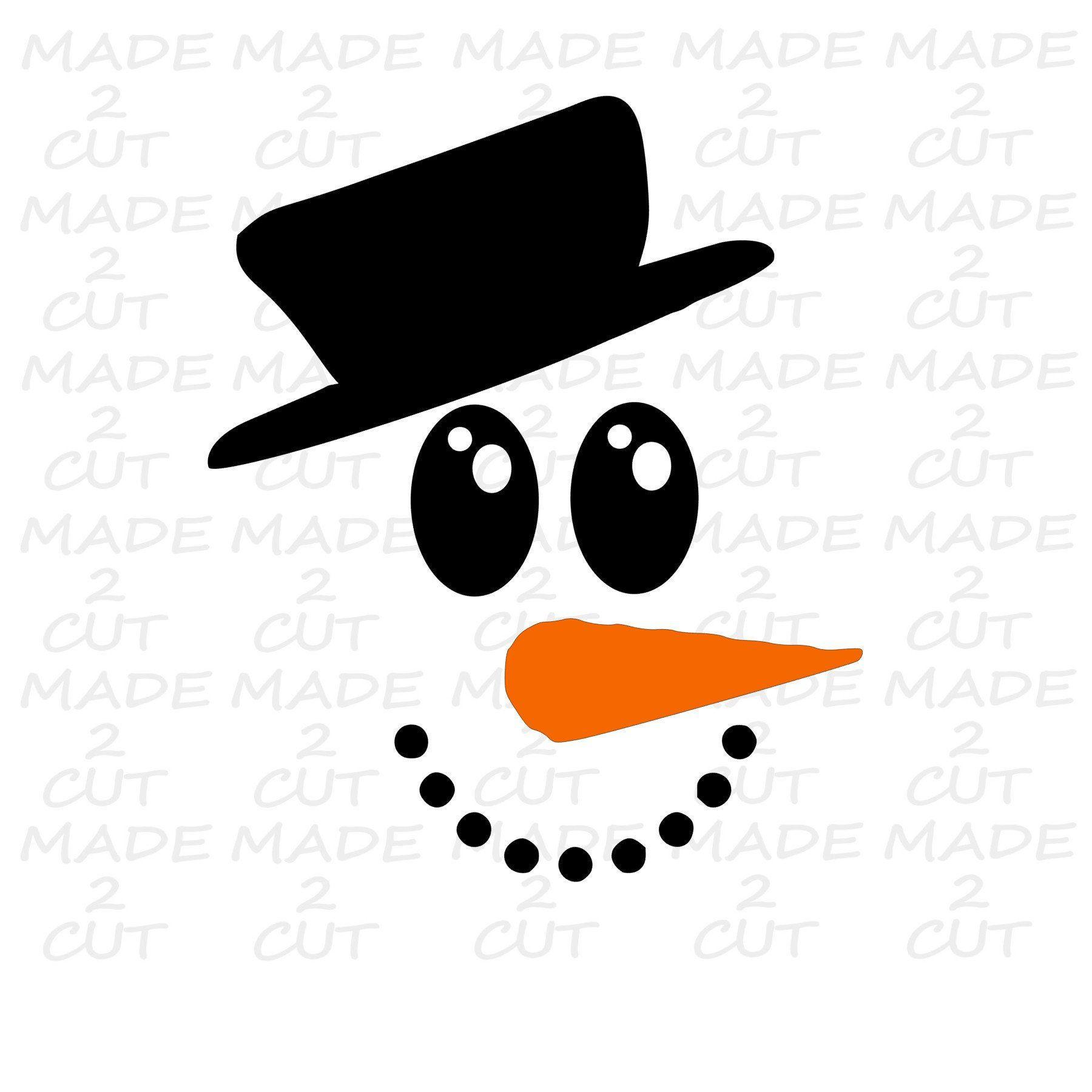 Snowman Svg Snowman Studio Design Snowman Face Svg Etsy Snowman Faces Printable Snowman Faces Etsy