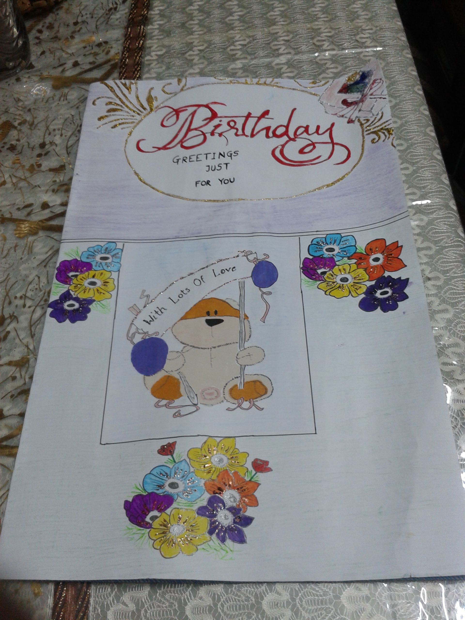 Want To Make A Birthday Card For Your Frnd Want To Give It An