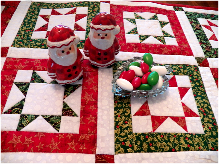 North Star Quilted Table Runner pattern