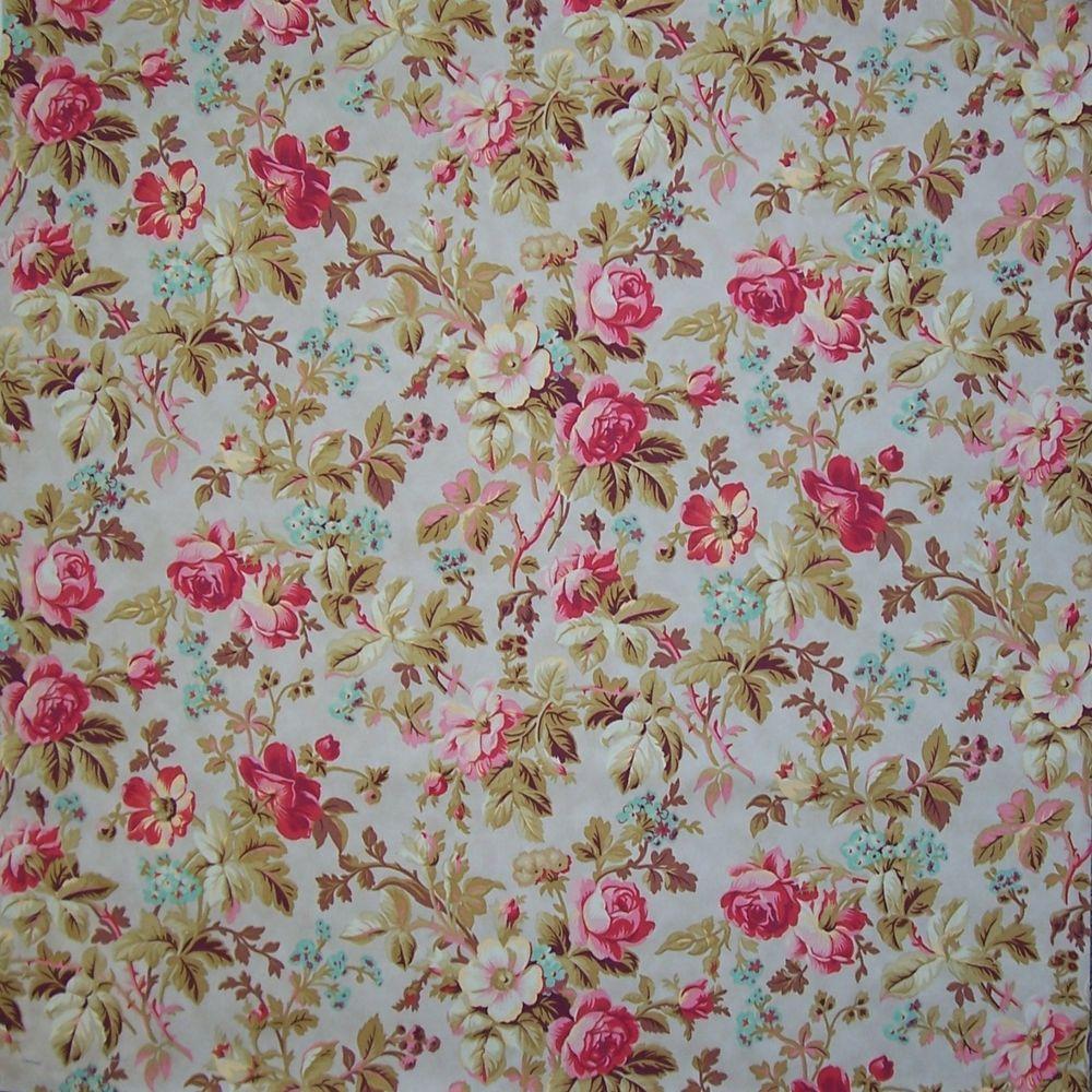 """Blossom pink red roses flower garden 2 side pillow Cushion Cover 18"""" handmade #Handmade"""