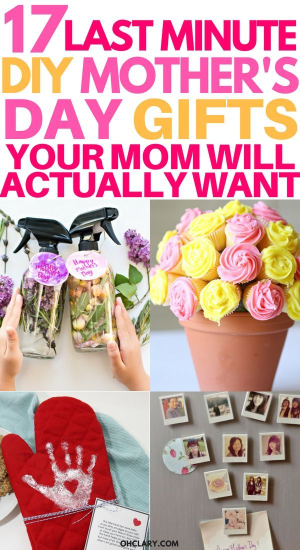 17 DIY Mother's Day Crafts Easy Handmade Mother's Day