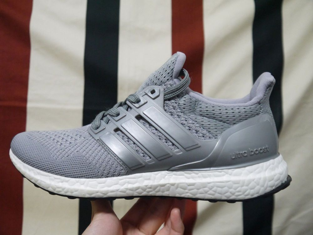 178d73504 100% Authentic Men s Running Shoes (Size 8.5) Adidas Ultra Boost 4.0  Grey
