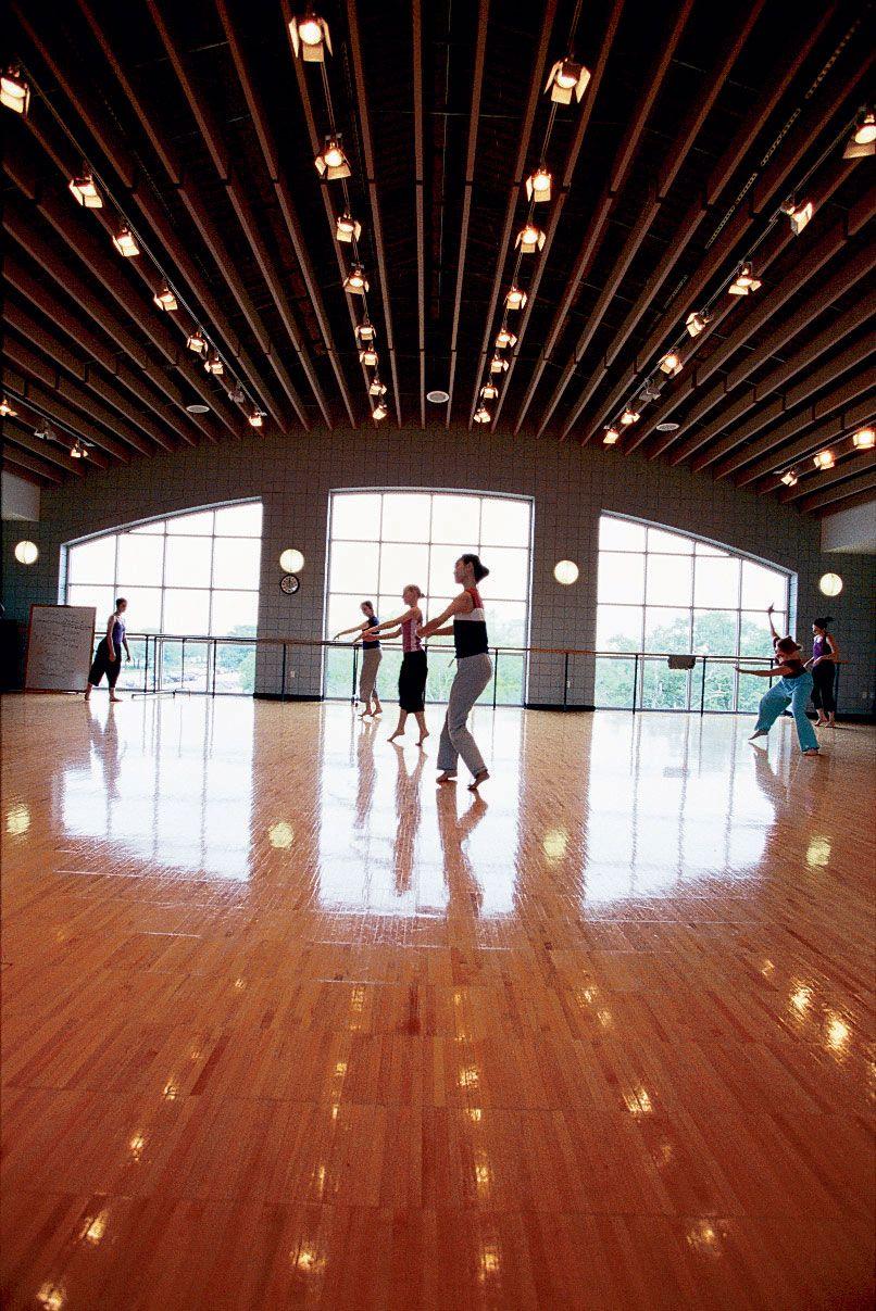 Dance Studio Lighting And Lockers Can Be Financed