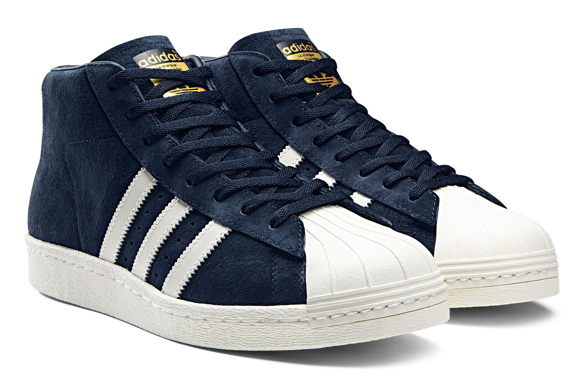 sale retailer aa6f2 d419c adidas Originals Superstar Pro Model OG  Blue White