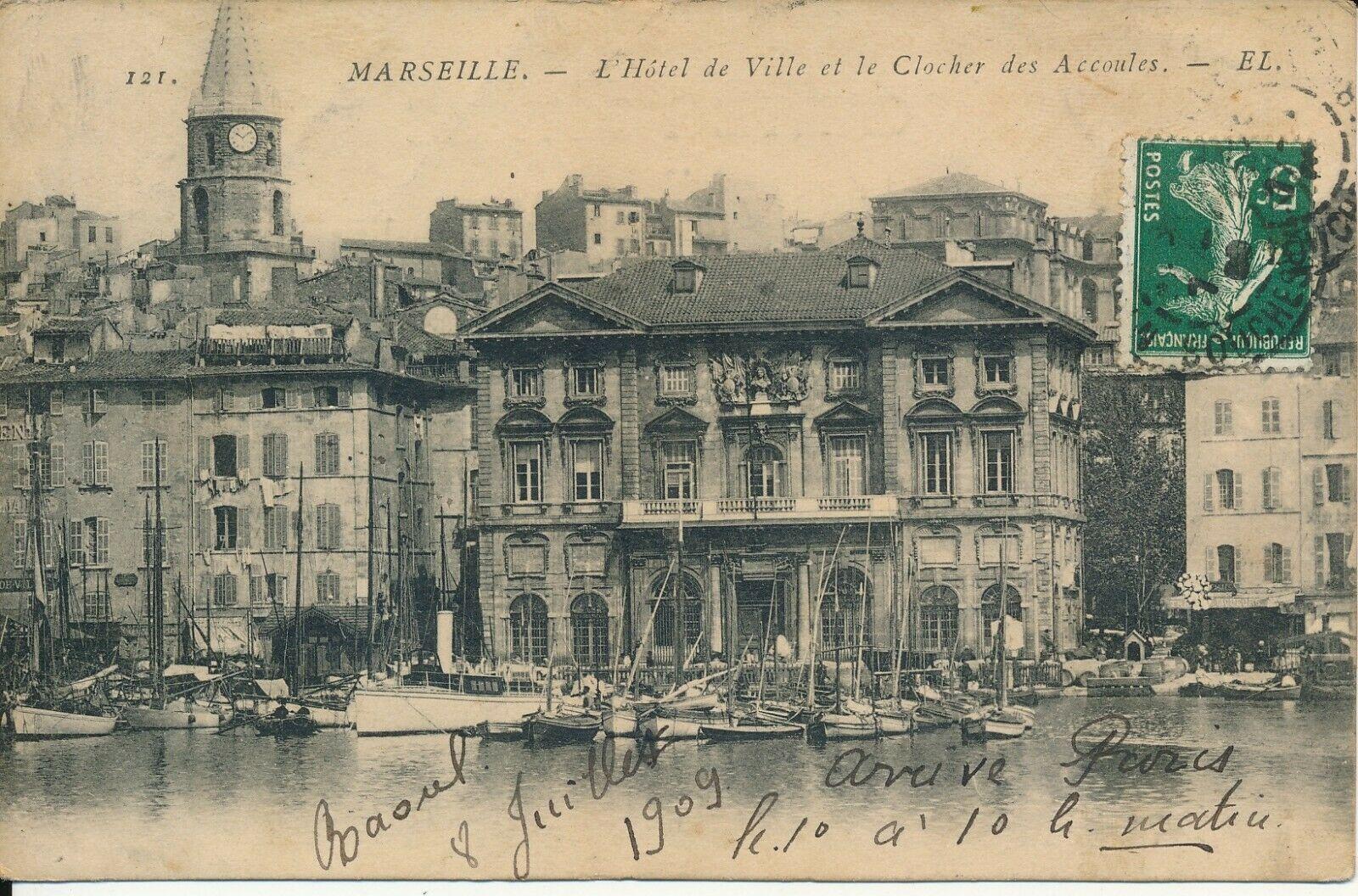 Détails sur C8171 - Une Carte Postale Ancienne MARSEILLE Voir Photo | Cartes postales anciennes ...