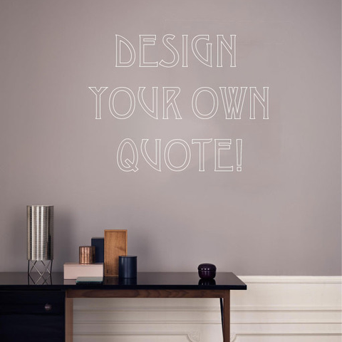 Word Cluster wall sticker