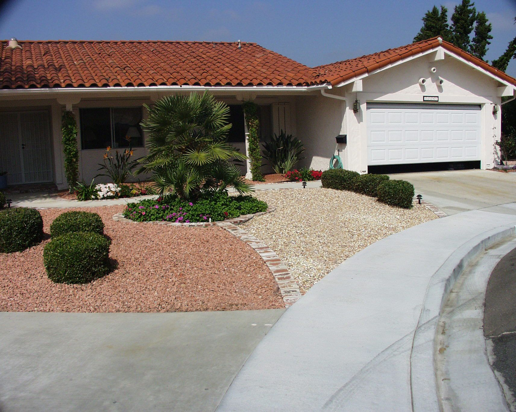 Watersmart landscape water smart landscape gravel yard Backyard designs with gravel