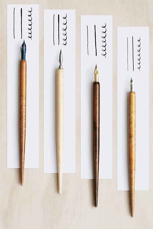 How to get started with calligraphy and hand lettering. Part 1 — overview and tools - Journal