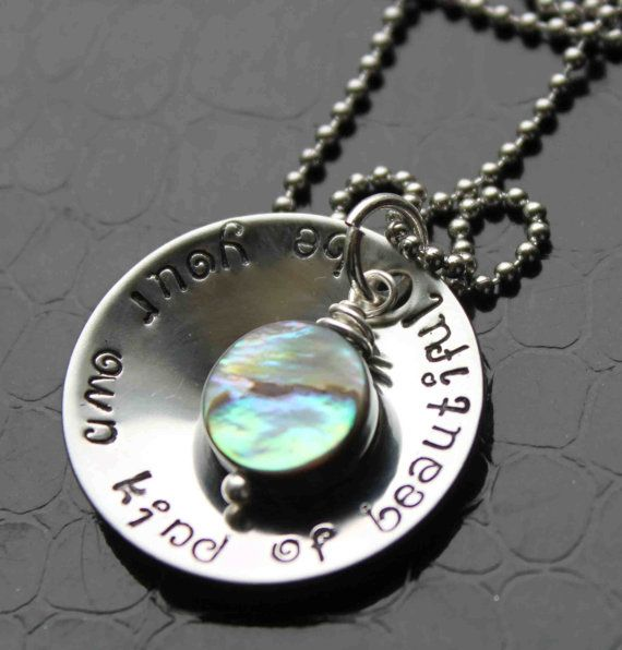 I Just Found This Artist On Etsy  Be Your Own Kind Of Beautiful Hand Stamped By Stampedfrosting
