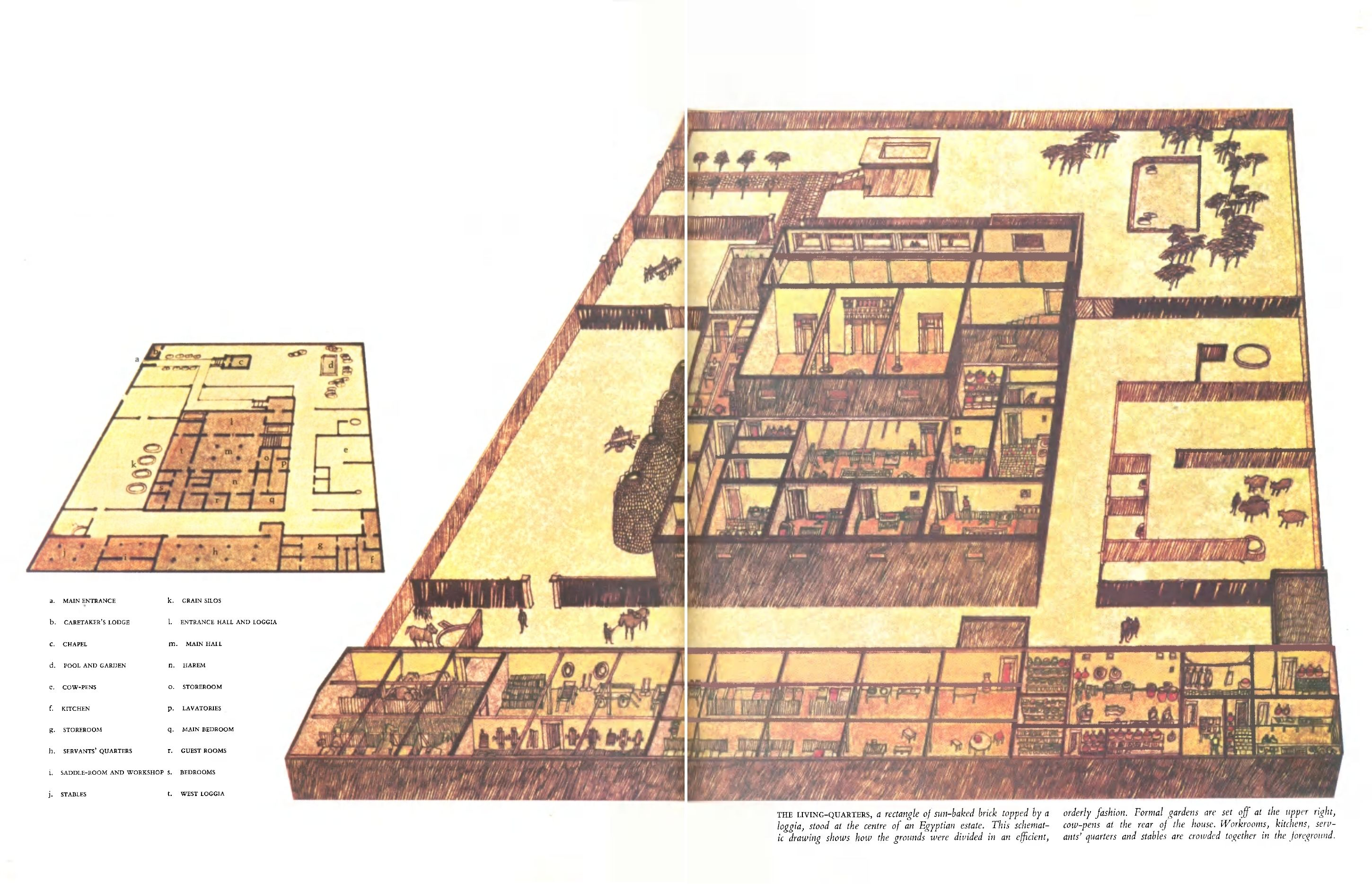 Nobleman S House Layout