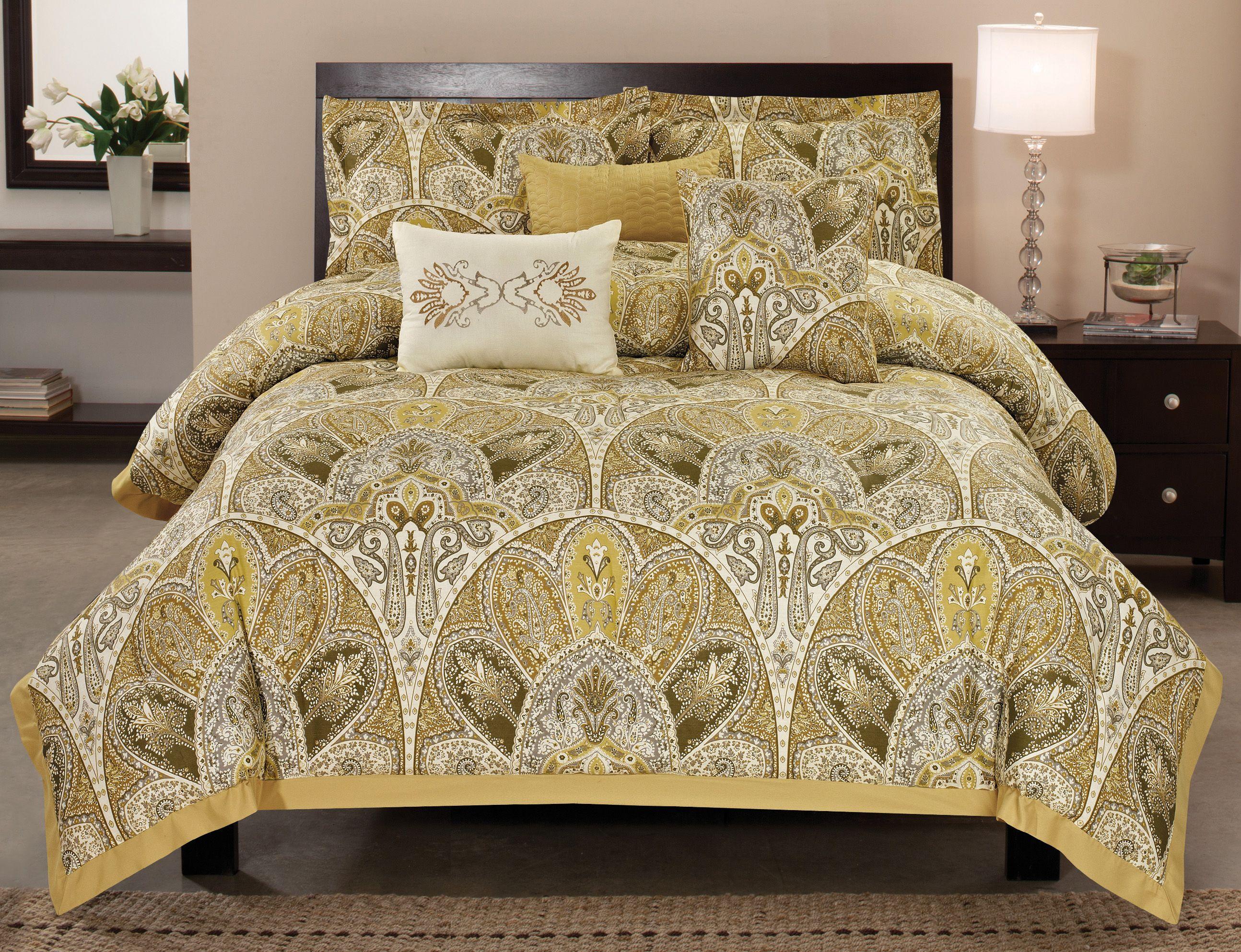 Amaretto Comforter by Ramallah Trading Comforter sets