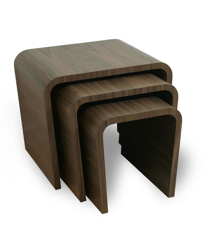 Desk Tables Homeoffice: Sleek And Modern, The Tom Schneider Kara Nest Of Tables