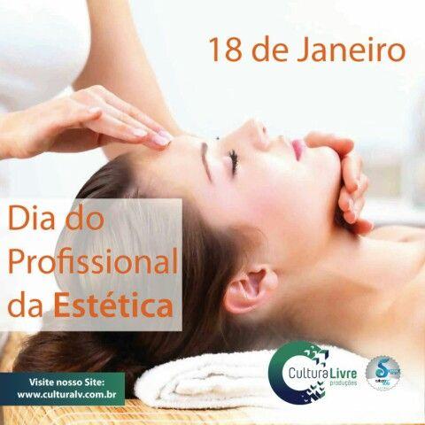 Dia do profissional da Estética  #diadoprofissionaldaestetica #profissionalestetica #profissionalestética #estetica #esteticista #esteticistas #beleza #18dejaneiro #janeiro2016 #culturalivre