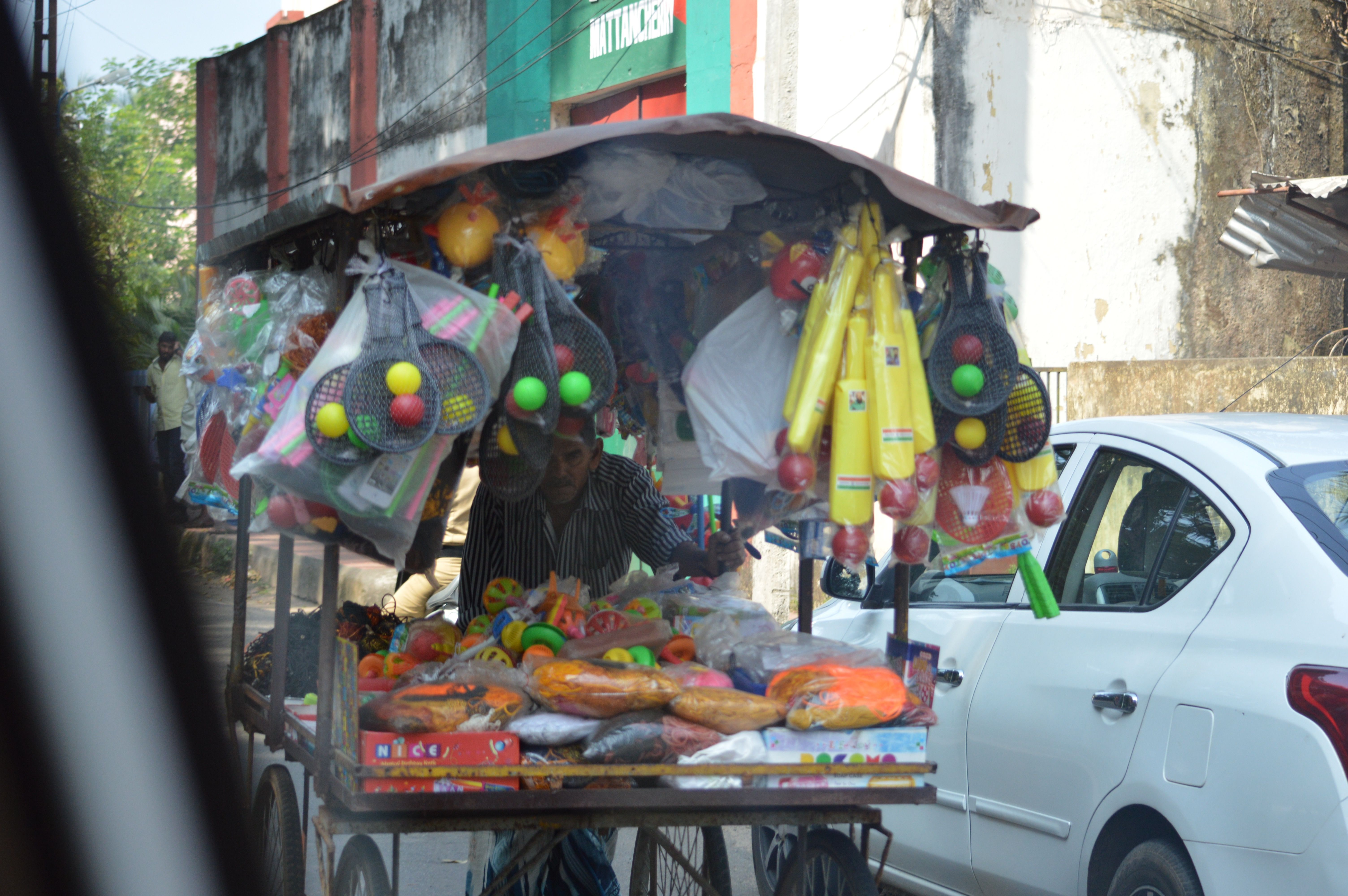 selling everything but the kitchen sink in India | Kerala ...