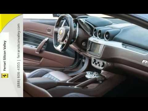 Video Clip Of 2013 Ferrari Ff Grey With Chocolate Brown And Black