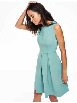 boden emille ottomankleid blau damen boden  kleider für frauen kleider damen tageskleider