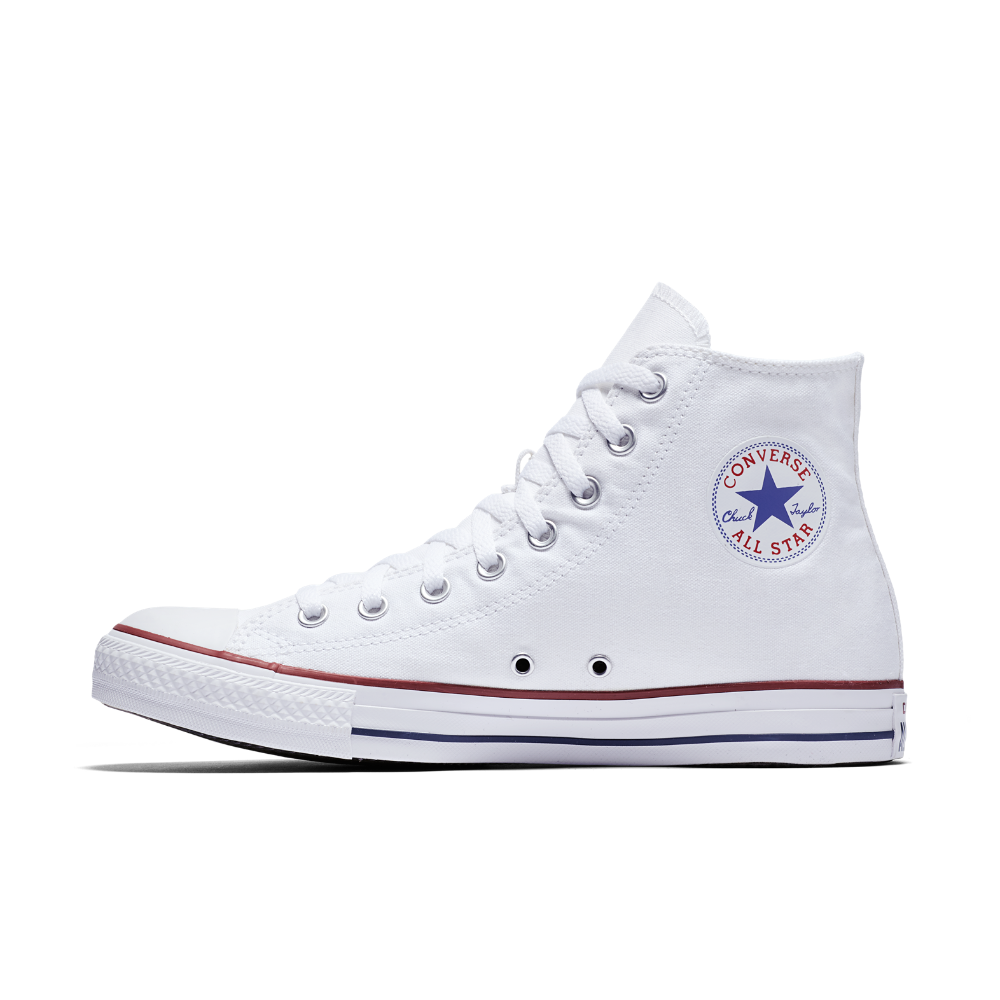 Converse Chuck Taylor All Star High Top Shoe Size 8 (White ... 8bfad0cdc