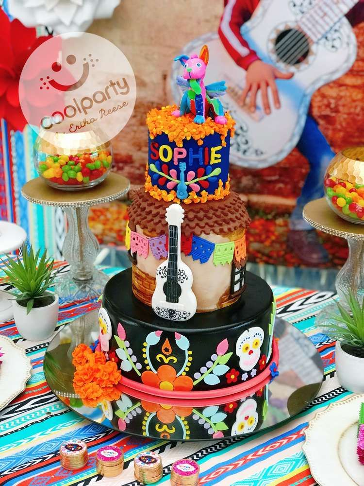 The Birthday Cake At This COCO Party Is Incredible See More Ideas And Share Yours CatchMyParty Catchmyparty Cocobirthdayparty