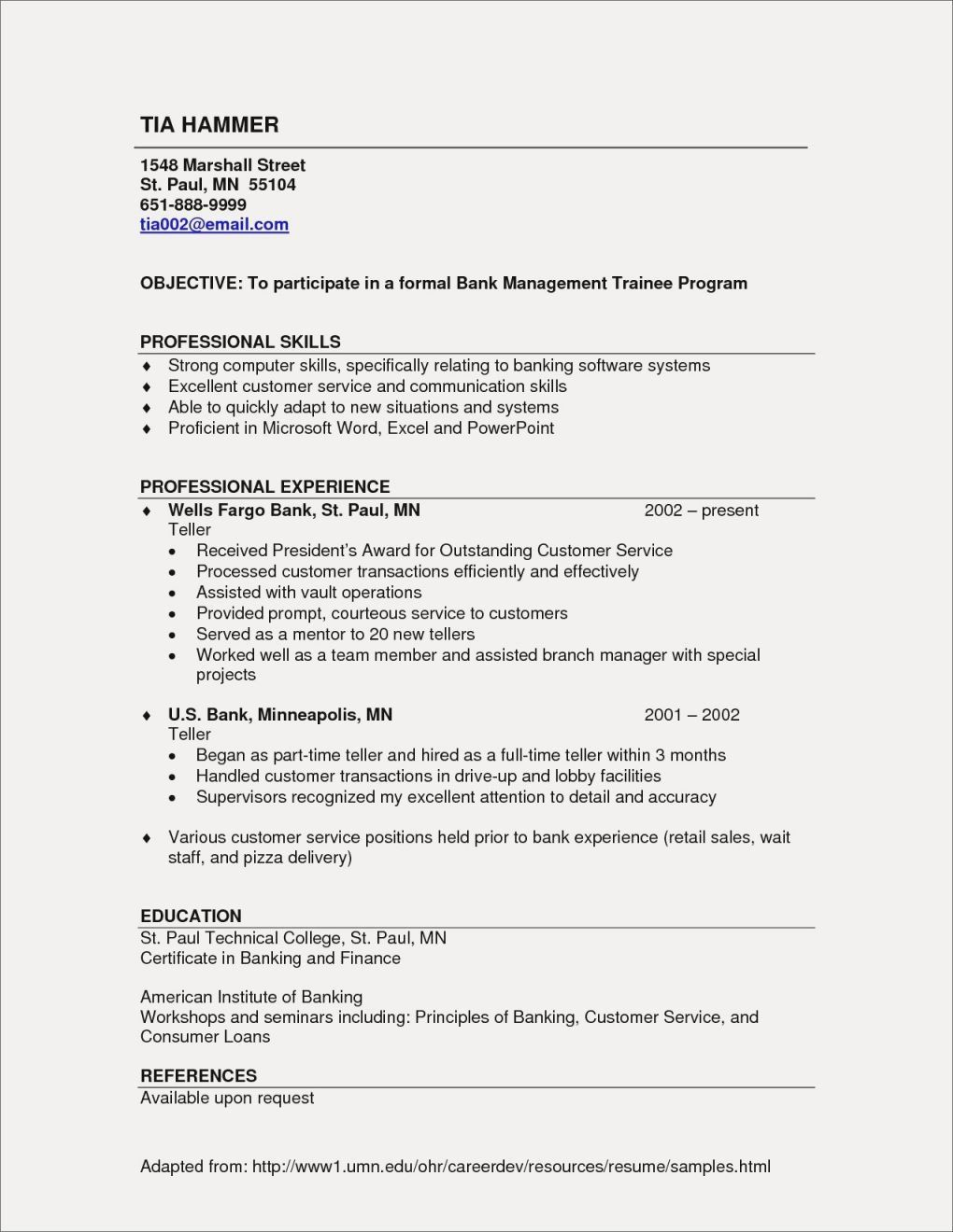 Listing Certifications On Resume 25 New Listing Skills Resume Example Good Resume Examples Resume Objective Examples Cover Letter For Resume