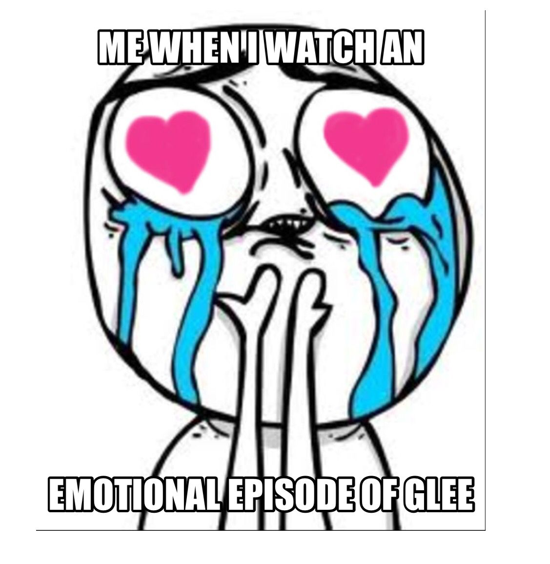 Glee🎼 image by Jordan Koo Crying meme, Adventures in odyssey