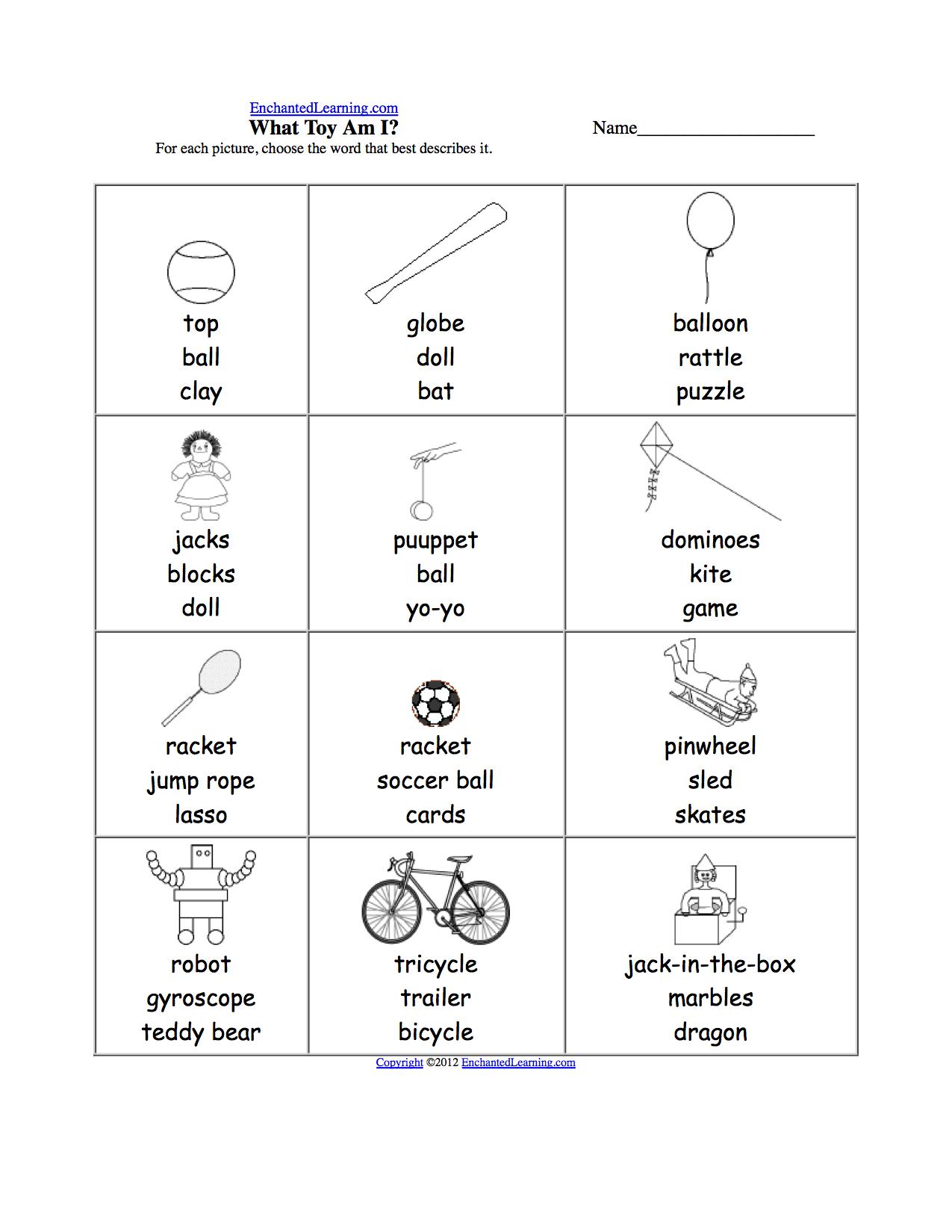 What Am I Worksheet Printouts Enchantedlearning Com Worksheets For Kids Spelling Worksheets Rhyming Words [ 1649 x 1275 Pixel ]