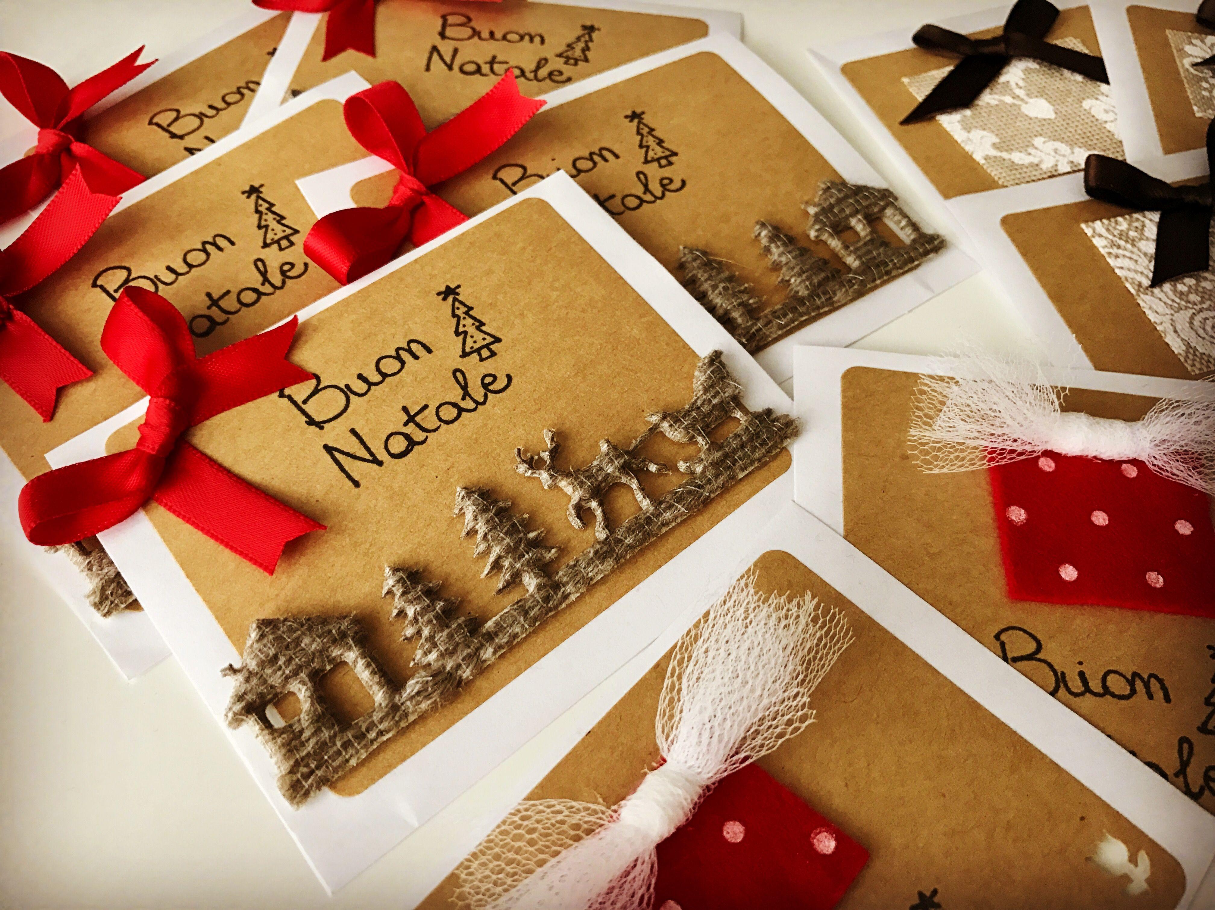 Etichette di Natale handmade ✋🏻❤️🎁