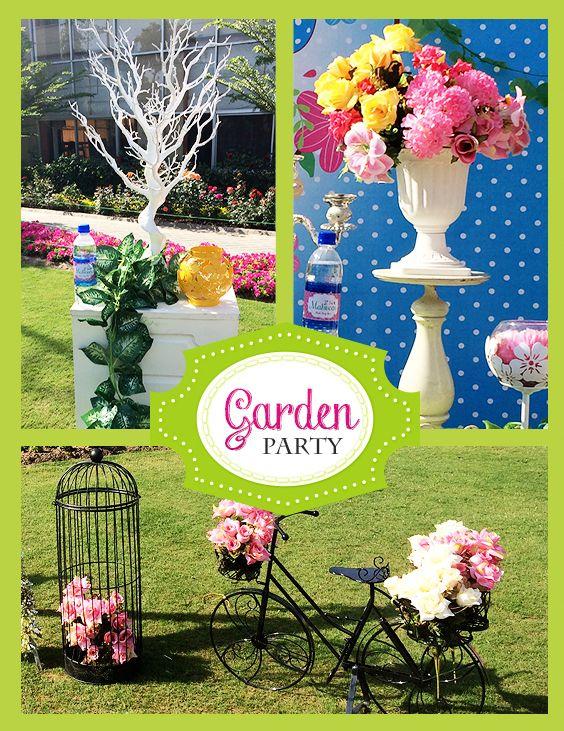 Sweet Garden Birthday party Theme decoration ideas in ...