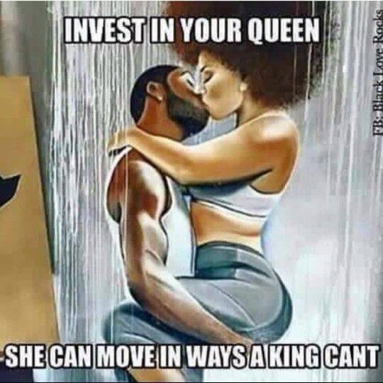 King Queen Status Black Love Queen Great Memes