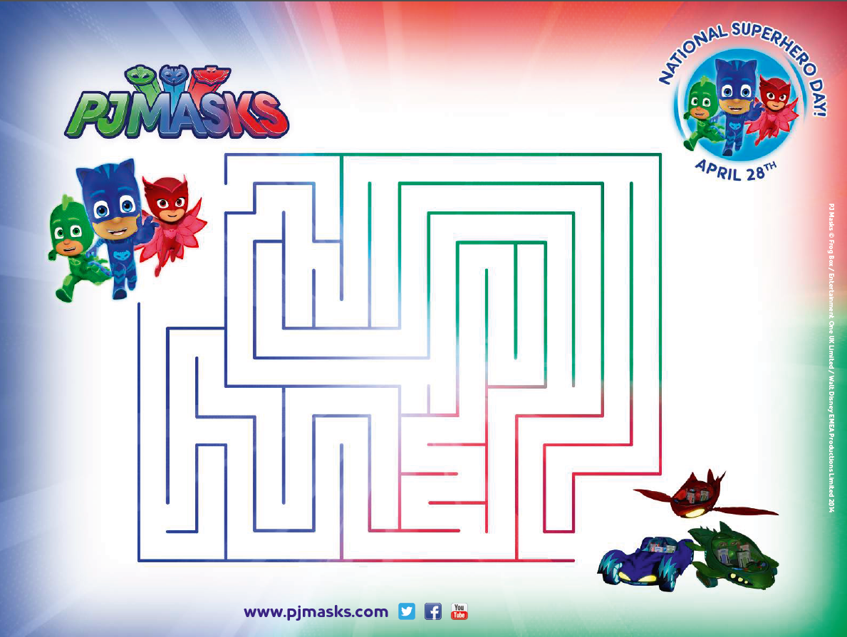 Pjmasks Make Maze Adventure