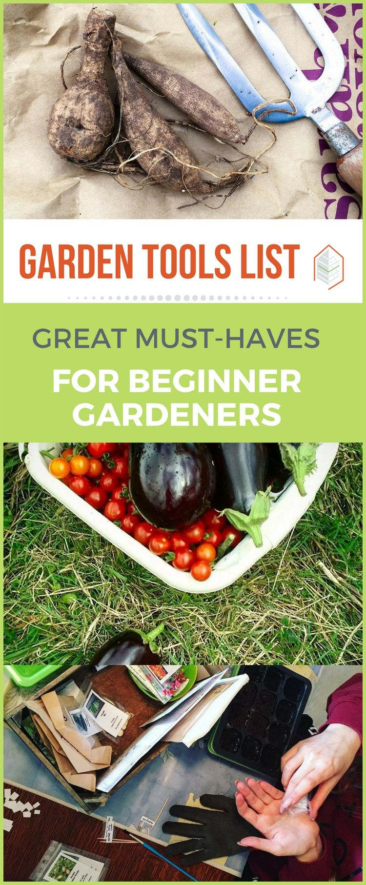 Here Is A Garden Tools List That You Can Use If You Want To Start Gardening.  Here Are Suggestions Of Garden Tools That Many Gardeners Would Find  Valuable.