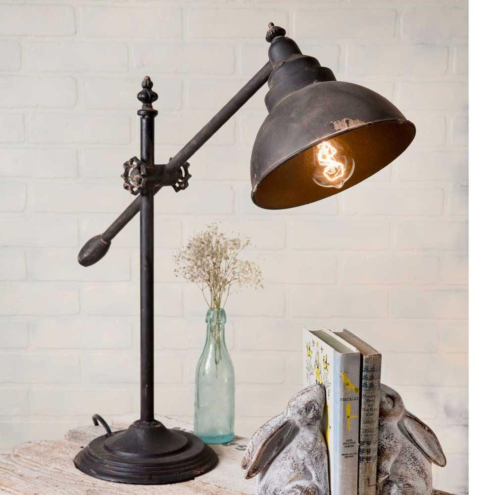 Rustic Farmhouse Table Lamp Farmhouse Decor Country Chic Decor
