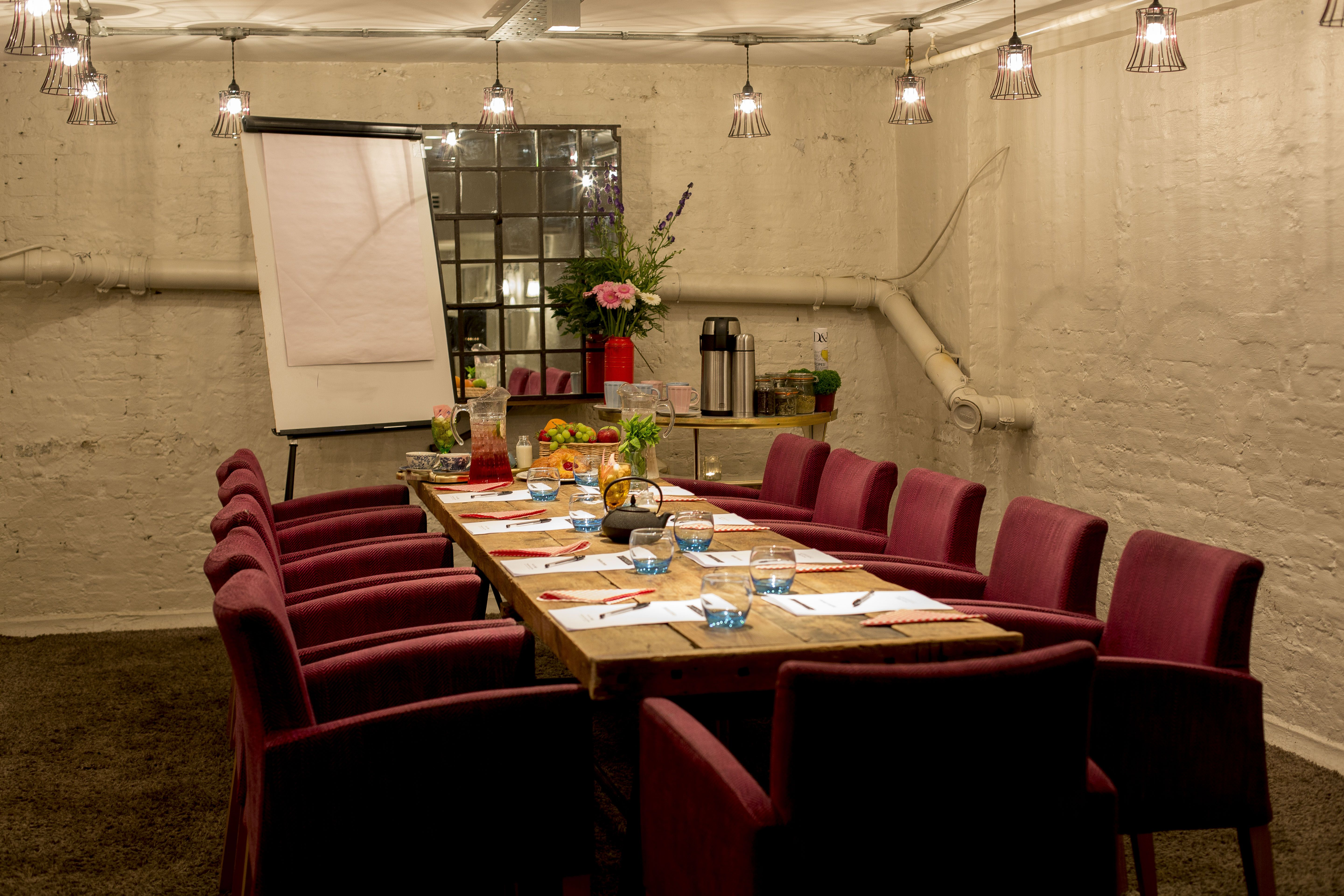 The Anthologist   Private Dining Room   Drake U0026 Morgan Collection   Http://