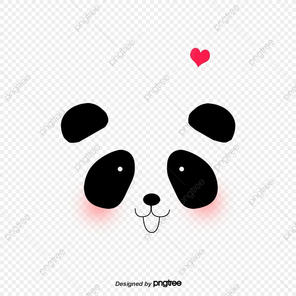 Panda Panda Clipart Hand Painted Panda Cartoon Panda Png Transparent Clipart Image And Psd File For Free Download Cartoon Panda Panda Kung Fu Panda