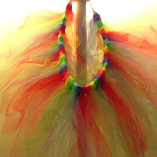 Rainbow tutu!