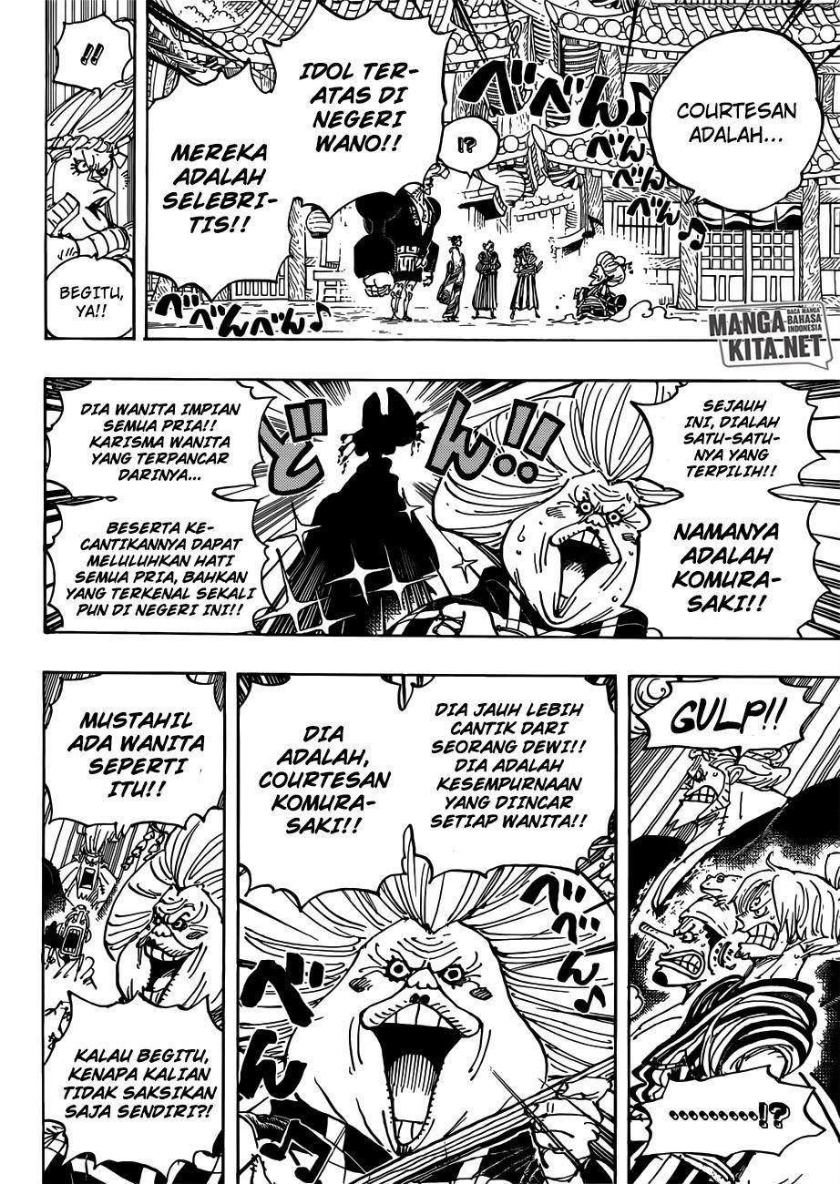 One Piece Chapter 927 Subtitle Indonesia Komik One Piece One Piece Manga Manga