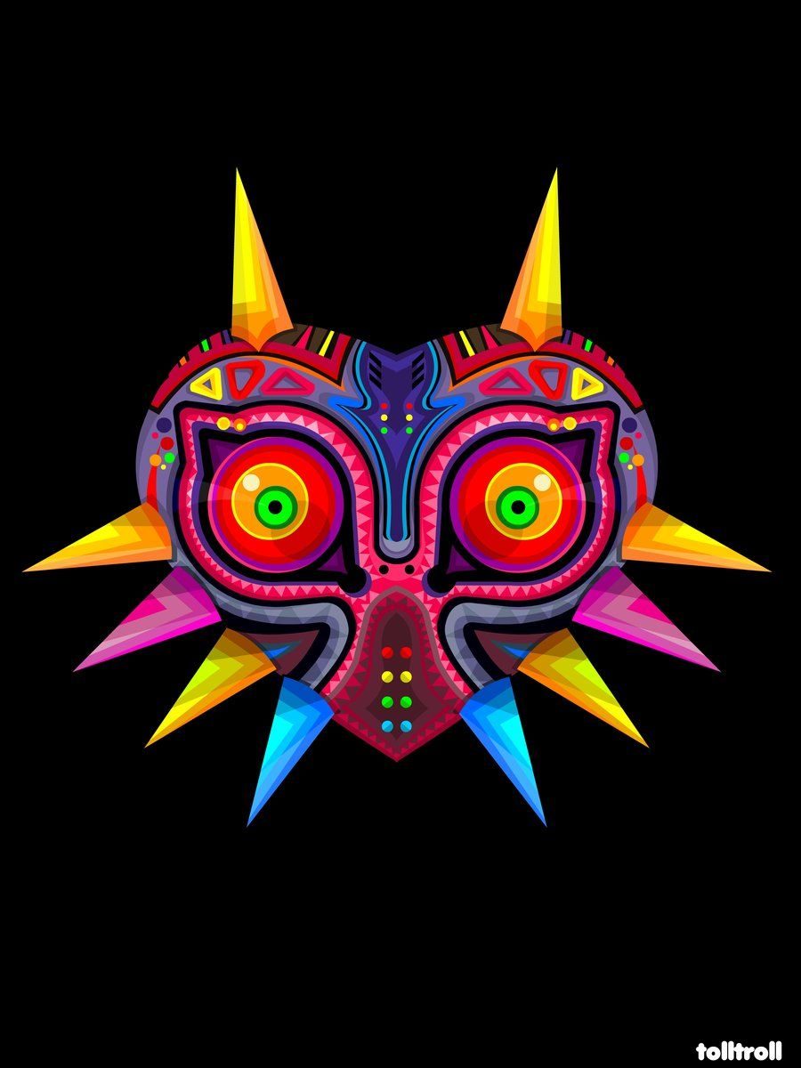 Zelda Majoras by ~TOLLTROLL this mask actually has a lot of meaning ...