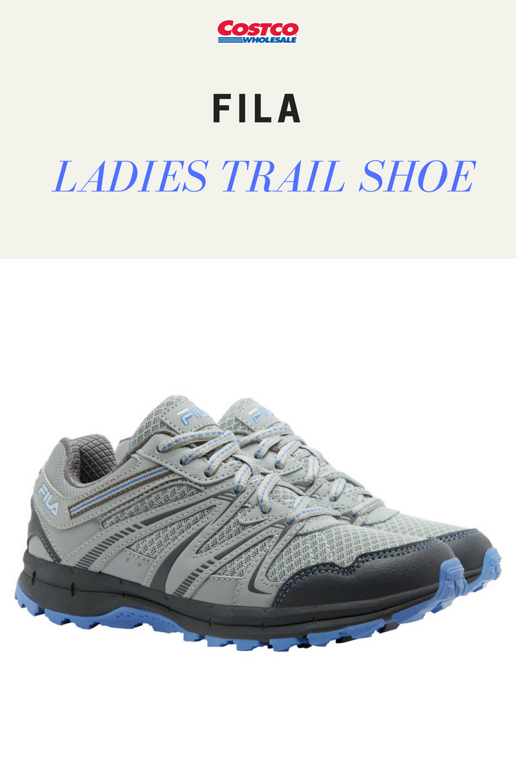 4285e26c71cb Fila Ladies Trail Shoe. A breathable design and comfortable foot bed for  outdoor activities.