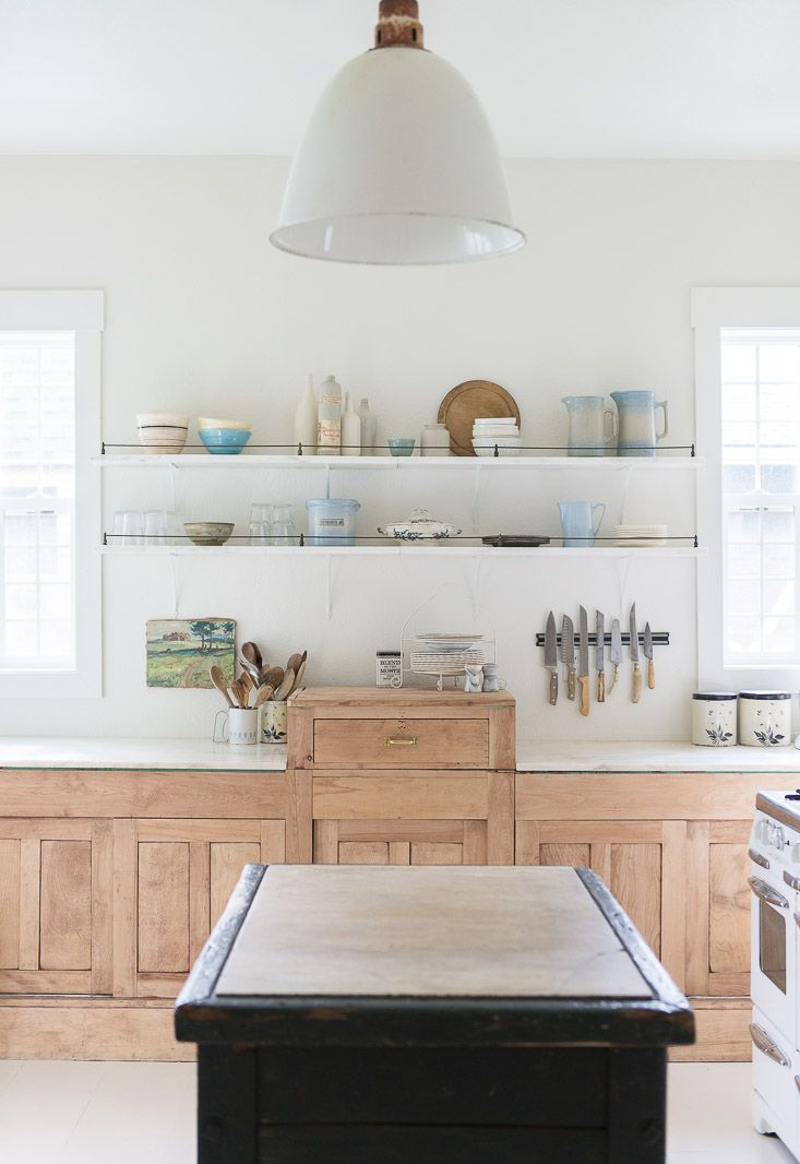 This Rustic Chic Kitchen Was Designed And Remodeled Without A Large Budget Using Mix Of New Reclaimed Materials